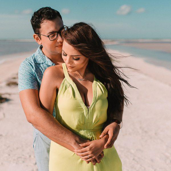 Las Coloradas Yucatan: Miguel y Arylu