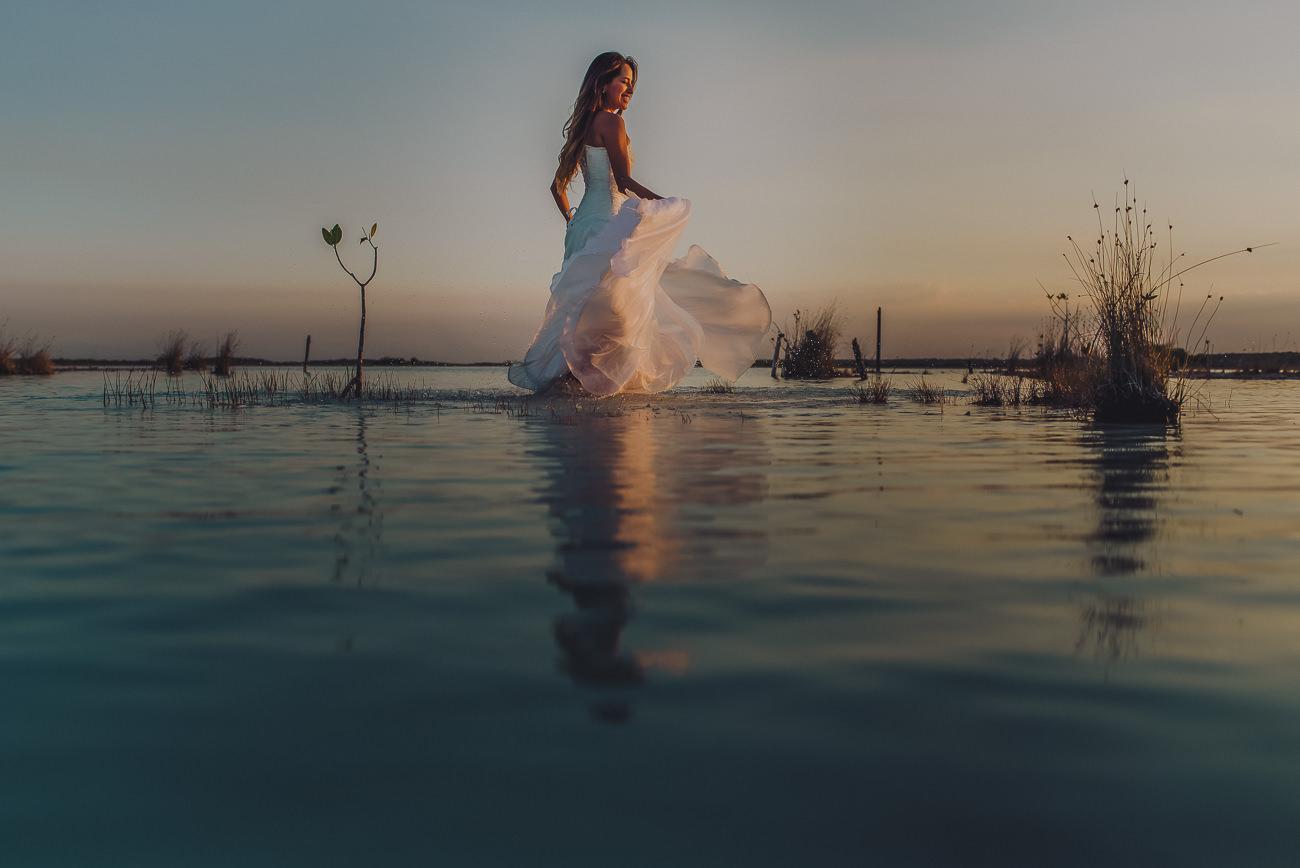 fotografo de bodas en Bacalar