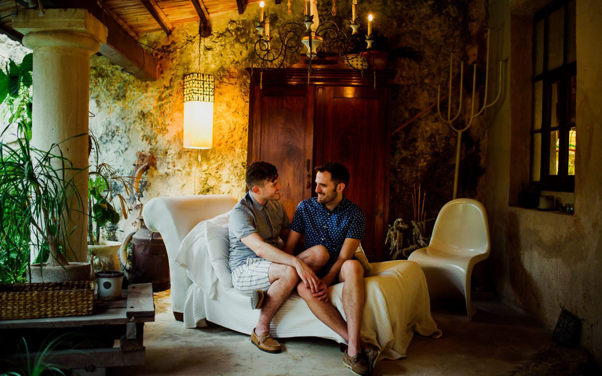 Hotel Puertas Campeche // Engagement Session: Chris & Gabe