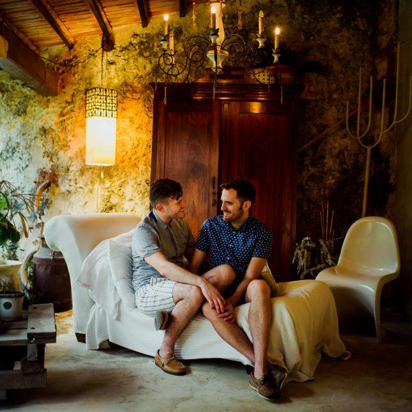 Fotografo de bodas Campeche | Hotel Puertas Campeche: Chris & Gabe