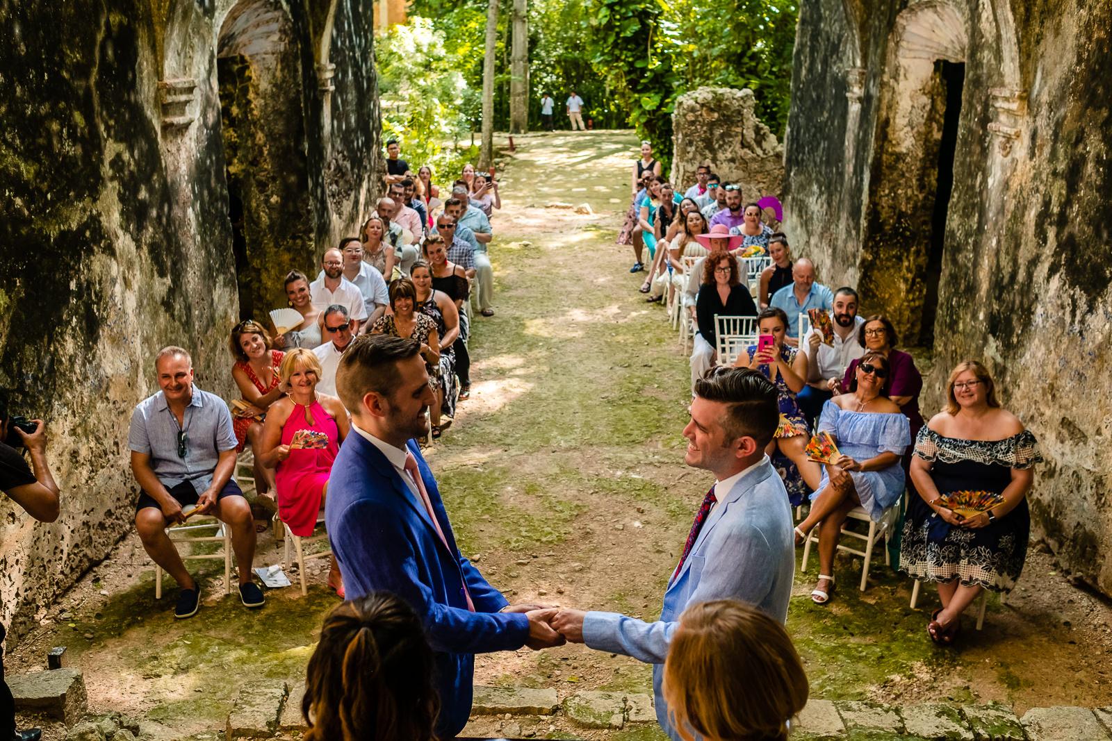 Hacienda Uayamon Boda | LGTB Wedding: Chris & Gabe